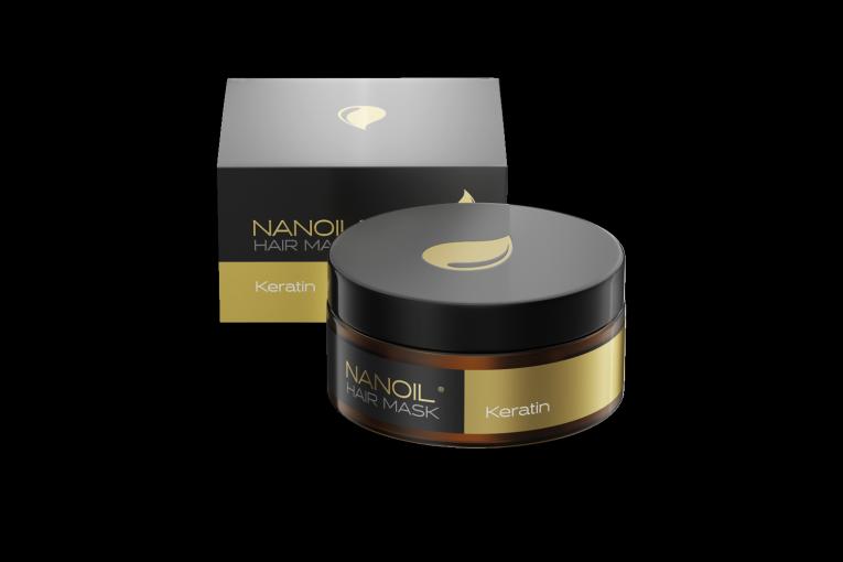 Keratin Nanoil Mask - the best Hair Mask