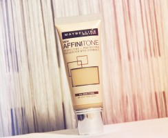 New foundation Maybelline Affinitone