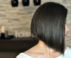 Bob cut hairstyle as a latest trend this season