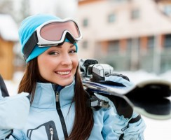 Hair care during winter. How to take care of hair while skiing holidays?